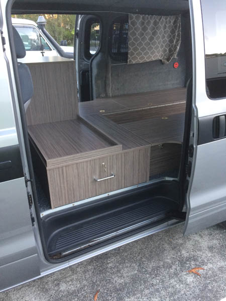 Specialised furniture auto fitout
