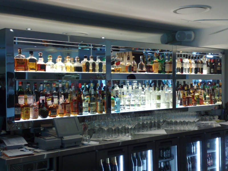 Specialised furniture bar stocked