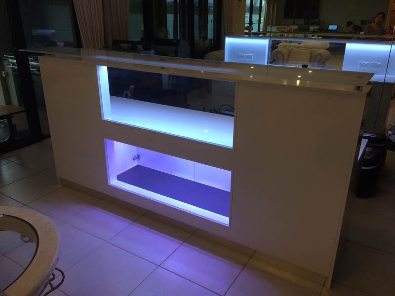 Specialised furniture bar lighting
