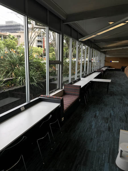 commercial library seating
