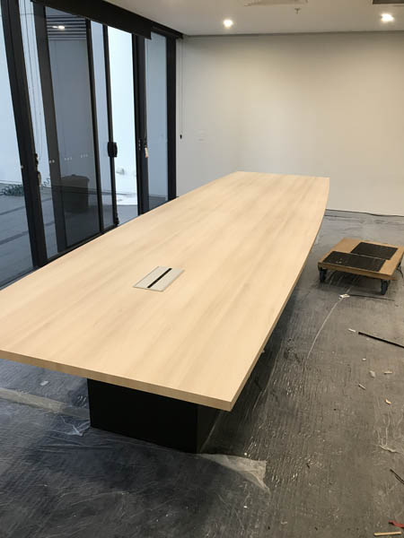 Commercial Office Fit outs boardroom