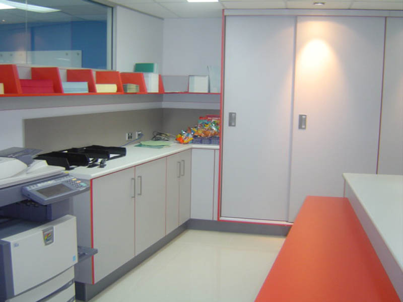 Commercial Office Fit outs  kitchen