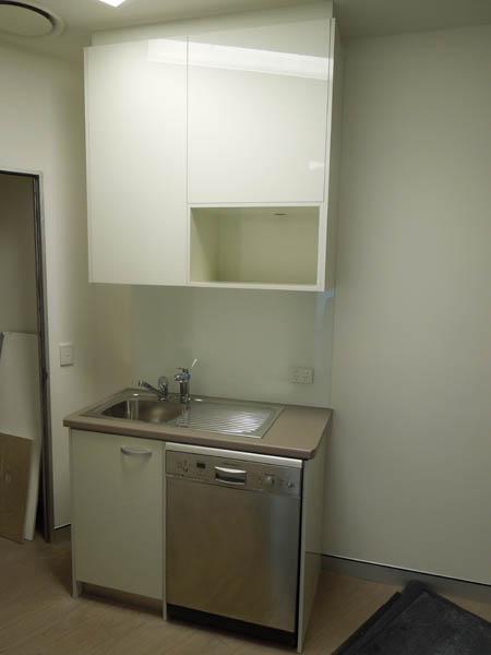 Commercial Dentist fitout Robina kitchen