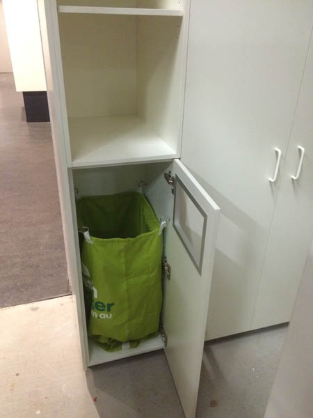 Commercial Office Fit outs storage