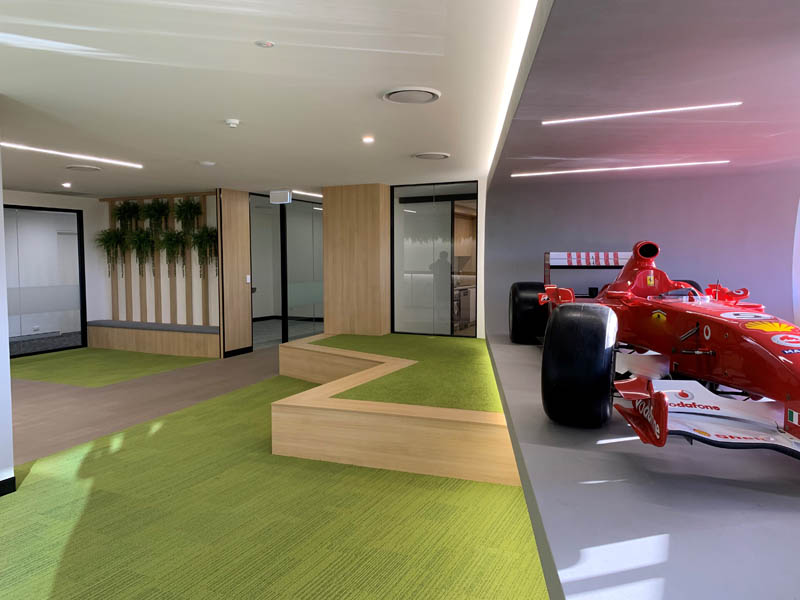 Commercial Office Fit outs cabinetry QLD
