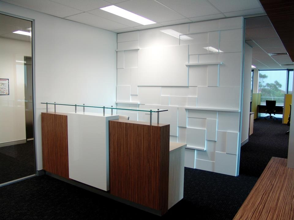 Commercial Office reception counter