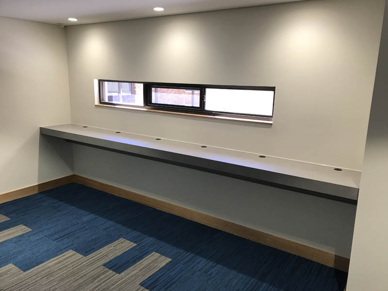 commercial standing desk