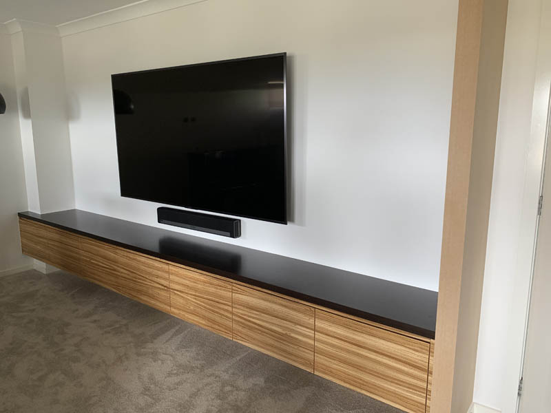 cabinet maker QLD Media room