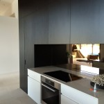 kitchen black modern